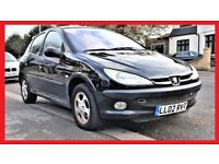 Automatic -- Peugeot 206 AUTO -- 5 Door -- Part Exchange OK --alternate4 vauxhall corsa toyota yaris