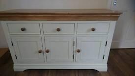 Solid oak sideboard from oak furniture land