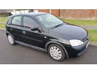 CORSA 1.0 LIFE 5DOOR 2003 BLACK METALLIC 79000 MILES