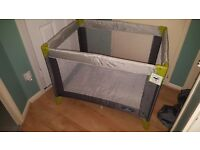 Babystart travel cot, never used.