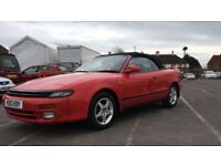TOYOTA CELICA Automatic 2.0 4 Wheel Steering 2dr Convertible (1991) £4,995,00 Low mileage