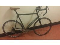 FULLY SERVICED Men Women CANNONDALE R400 2.8 ALUMINIUNM Road Racer Bike Bicycle TWO TONED COLOUR