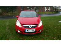 Vauxhall corsa 2011 1.3 diesel excellent condition drive like new 3 months warranty