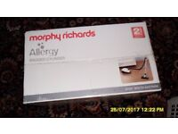 morphy richards allergy 700006 NEW IN BOX