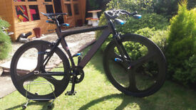 mens single speed tron racing bike