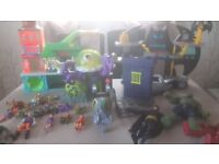 Inaginext toys and figures all excellent condition