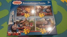 New still sealed puzzles Thomas and Frozen