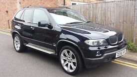 2006 (56) BMW X5 3.0 D Sport Automatic 86,000 miles FSH FULLY LOADED