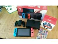 Already SOLD! Nintendo Switch - Neon + MarioKart 8 Deluxe Bargain
