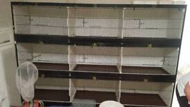 Canary breeding cages