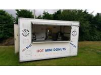 Burger van mobile cafe site office catering