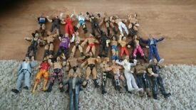 Wwe bundle figures and ring and much more