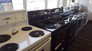 - STOCK CLEARANCE!  - Used STOVES SALE $250 to $480 ... USED APPLIANCE SALE! ------ @ 9267 - 50 St