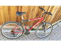 Challenge Mountain bike with front suspensions. In very good condition.