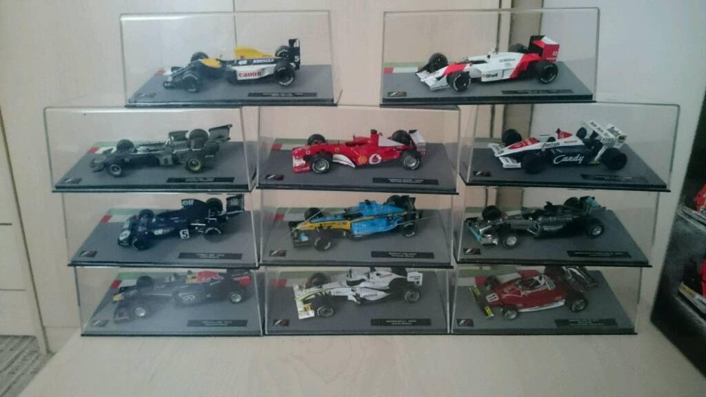 Model F1 cars