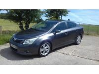 2009 Toyota Avensis 2.0 D4D T4, Turbo Diesel Service History Full Heated Leather, Air Con,