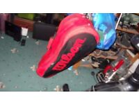 Wilson Tour Racket Holdall Sports equipment Bag as will hold 6 or more rackets & equipment