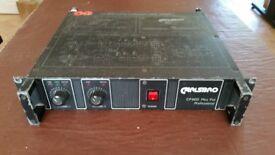 Vintage Carlsboro CP600 power amplifier 300 watts per channel