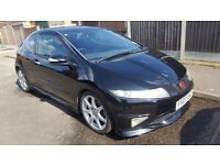 Honda Civic Type-R GT - 2007 Plate (Black) - Low Mileage £4850 ONO (Warranty Approved)