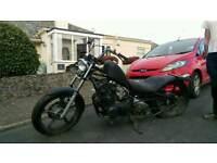 Chopper / Cruser Kawasaki motorbike bike