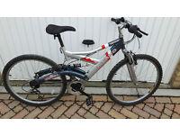Salcano Troia mountain bike. Fantastic suspensions £70