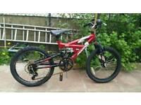 Mountain bike for kids.