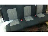 Transit customs heated seats