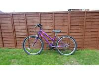 Raleigh outrider girls bike