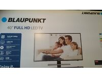 Blaupunkt 40 Widescreen 1080p Full HD LED TV (Freeview HD, Slim Design)