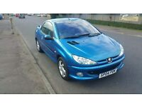 2004 Peugeot 206 CC 1.6 Allure Coupe Convertible Manual Petrol 3 Door - 72K Miles - MOT Sept 2017