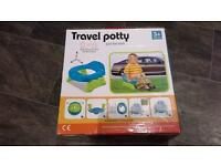 Kidoloop 2 in 1 Travel Potty Trainer Seat Excellent Condition