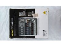 Behringer XENYX QX1202 USB mixer. Very good condition. in box. all cables provided. fully working
