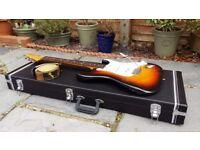 Vintage 1983 Fender JV Squier Stratocaster