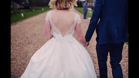 Used Ivory Tara Keely 2357 Wedding Dress