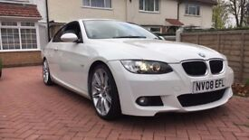 White BMW 320i Msport for sale. 80,000 miles