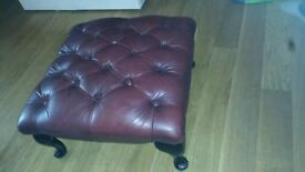 For sale is a used Chesterfield foot stool