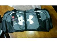 Under Armour duffel bag grey/black medium