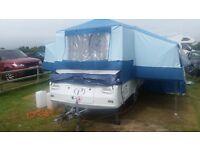 Pennine Fiesta folding camper 2 + 2.