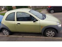 Ford KA 1.3 petrol ONLY 44k miles, service history 1 years MOT, Ideal 1st car/cheap to run £695 OVNO