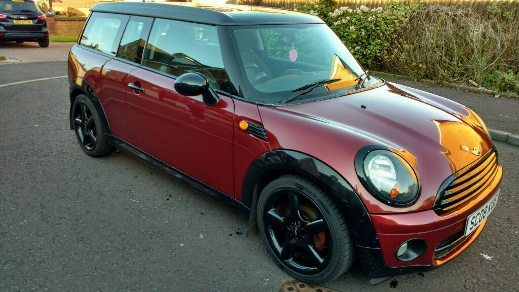 2008 Mini Clubman Cooper D Only 2500 No Offers Car Is In Troon