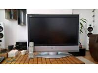 """Panasonc Viera TX-26LXD60 LCD tv, projector. Screen size is 26""""."""