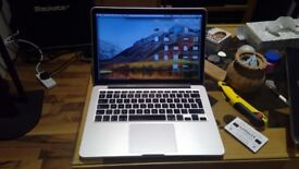 MacBook Pro Late 2013 13 inch Retina. Excellent Condition