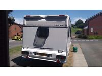 Swift challenger 480 se 2 birth full awning