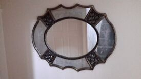 Beautiful oval mirror for sale