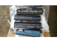 Job Lot 32 x Assorted Laptop Batteries only £5 each to clear
