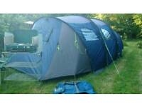 5 man three section tent & assessories