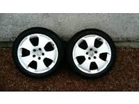 """17"""" Audi Golf Vw Alloy wheels"""