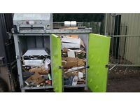 DIXI 4SK CARDBOARD PLASTIC BOTTLE COMPACTOR BALER TWIN CHAMBER 3PHASE INDUSTRIAL MODEL! SUTTON BHAM!