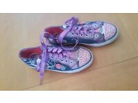 Girls Skechers size 2