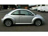 Volkswagen Beetle..full grey heated leather seats..9 months mot